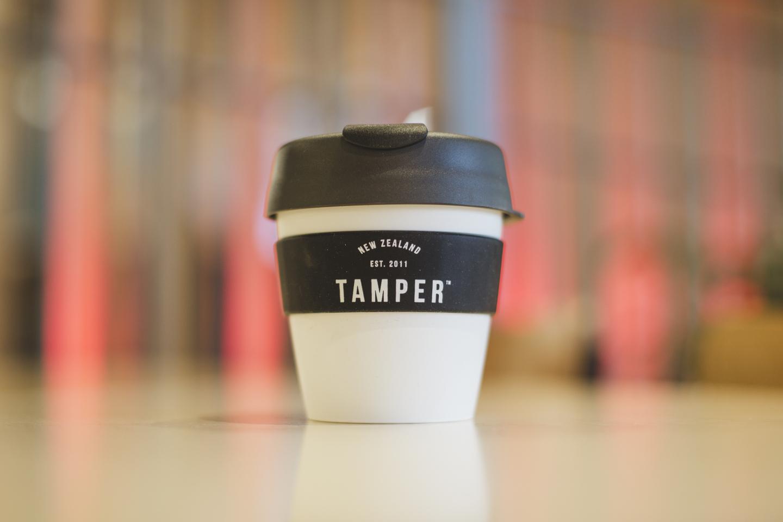 Tamper Keep Cup