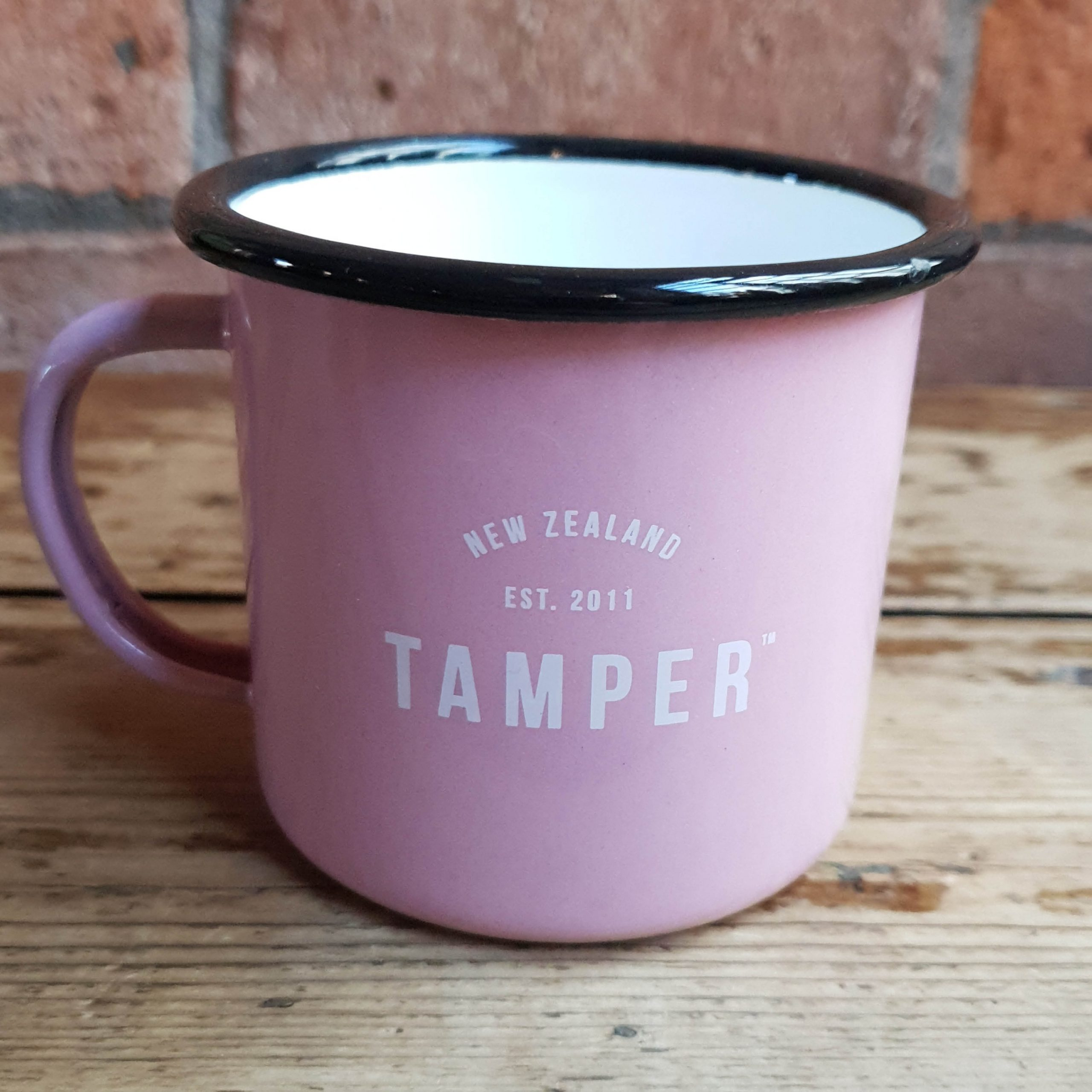 Enamel Tamper Mug