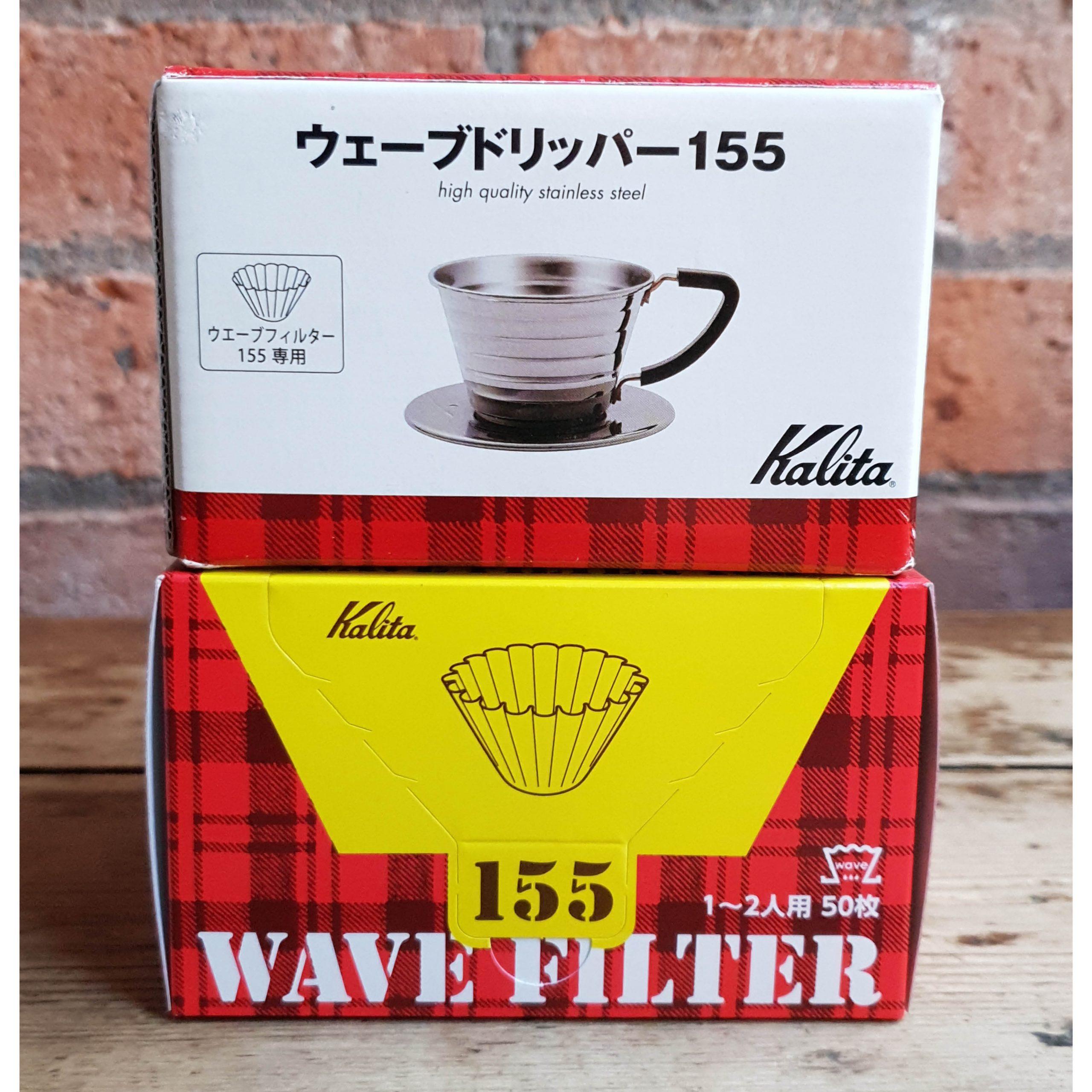Kalita 155 Wave  w/ Filters